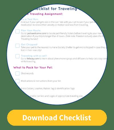 travel nursing checklist cta