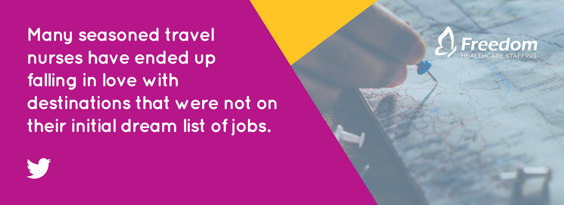 Many seasoned travel nurses have ended up falling in love with destinations that were not on their initial dream list of jobs.
