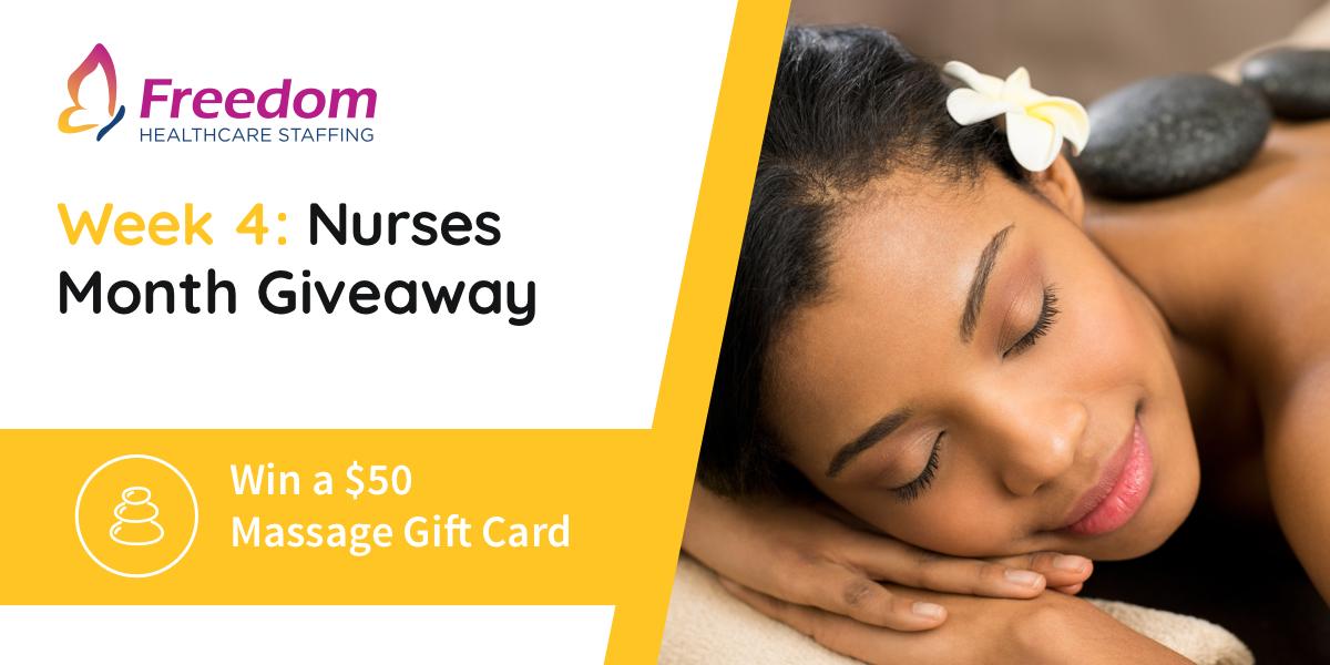 nurses week 2018 week 4 giveaways